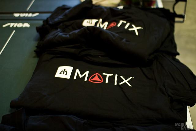 Active x Matix t-shirts...