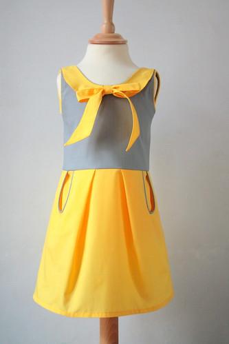 geel en grijs