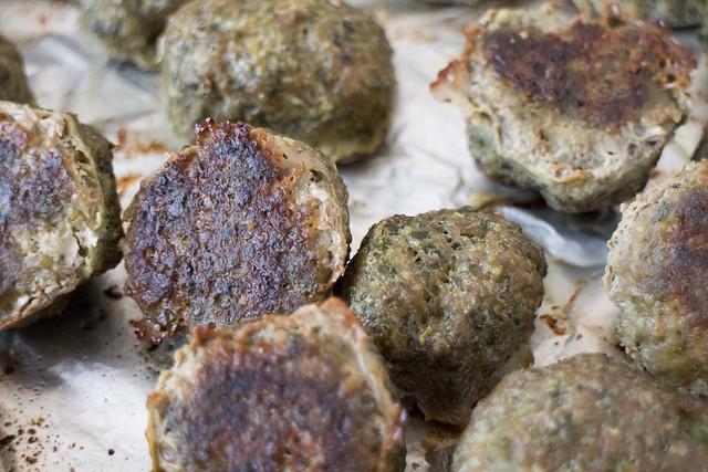 Baked Kale Meatballs _4
