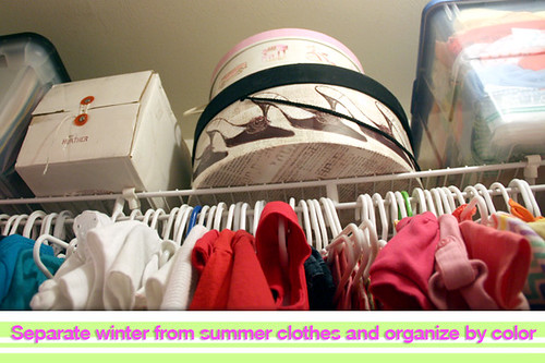 Organize-clothes-by-color