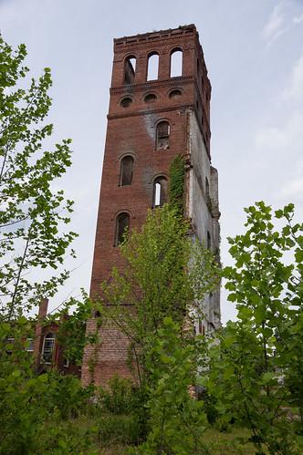 Glendale Mill ruins - 19