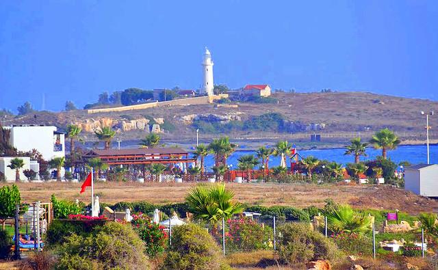 Пляж Лайтхауз. Пляжи Кипра а городе Пафос