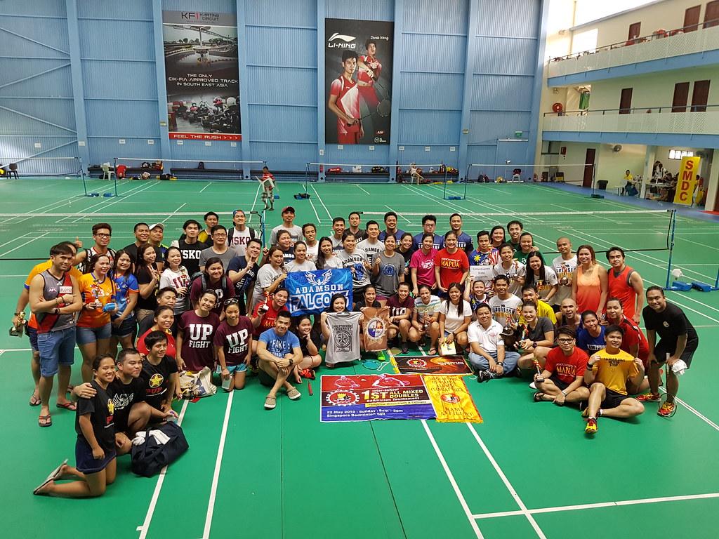 20160522 1st Interschool All Mixed Doubles Badminton Tournament