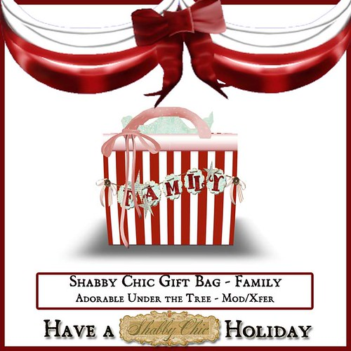 Shabby Chic Family Gift Bag by Shabby Chics