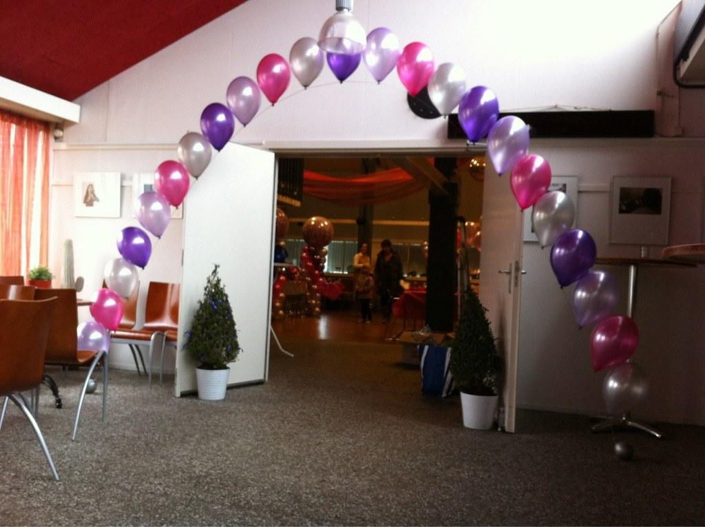Heliumbogen 24/7 bezorgd door heel NL