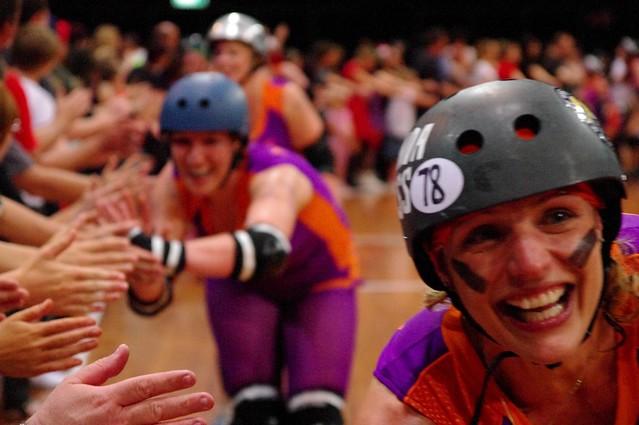 Sydney Roller Derby League Assassins Vs New Zealand Wellington Richter City All Stars