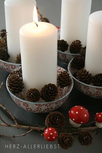 Die erste Kerze