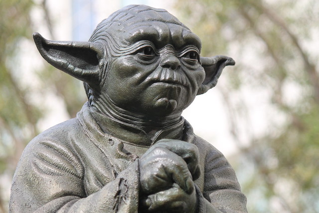 Yoda Statue at Lucasfilm Ltd.
