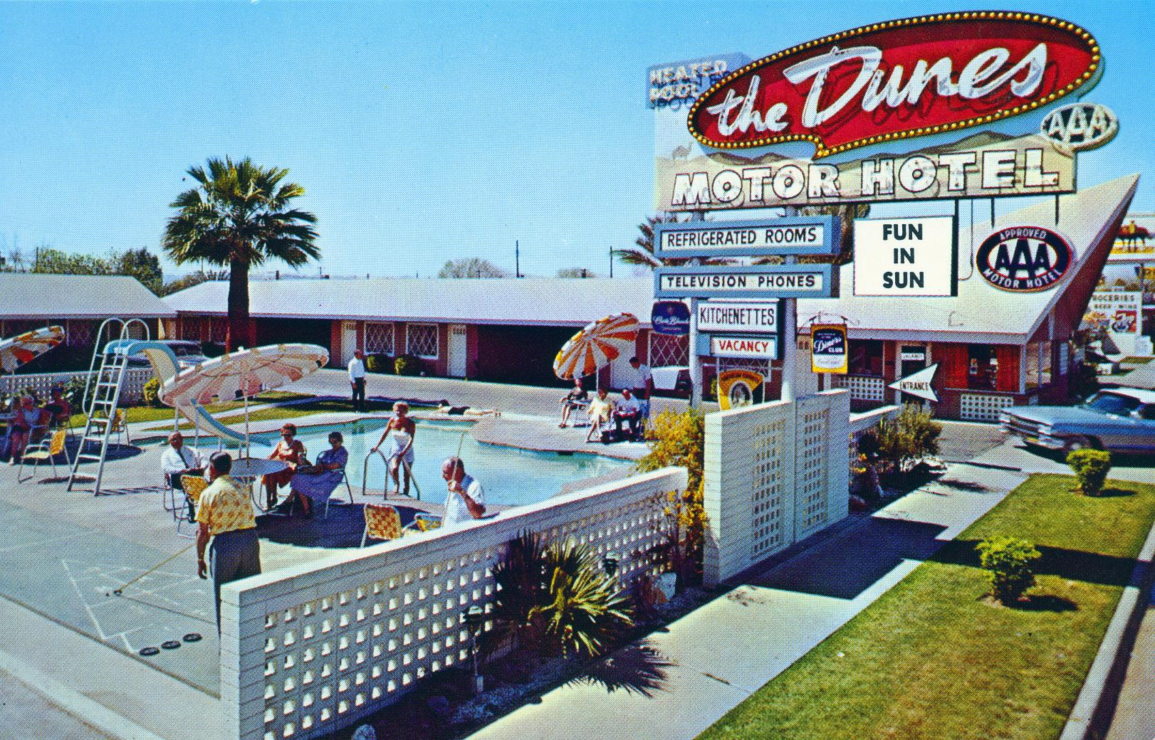 Dunes Motor Hotel Phoenix Az Flickr Photo Sharing