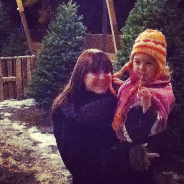 Tree shopping last night!