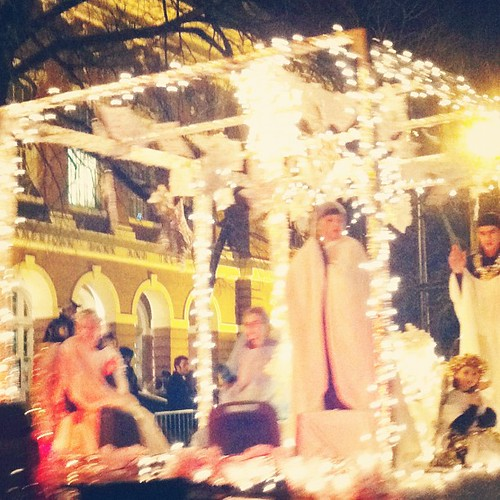 Athens Christmas Parade 2011 angels