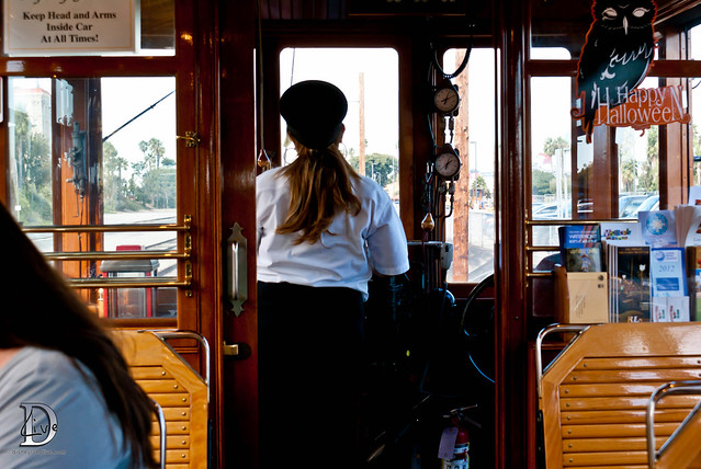 Pacific Electric Railway / Red Car Trolley - Operator