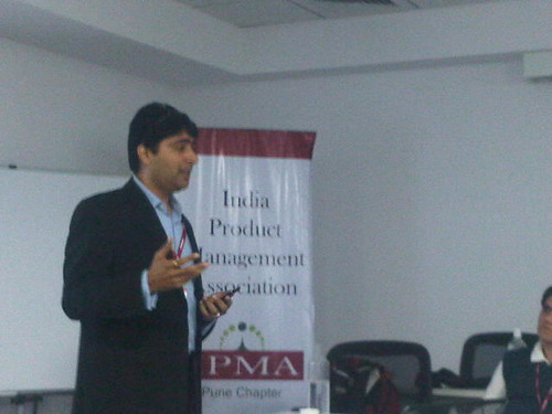 Pinkesh Shah talking at IPMA Pune