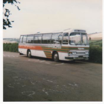 southern vectis 126 tdl126s bedford ymt duple dominant 27.8.1986