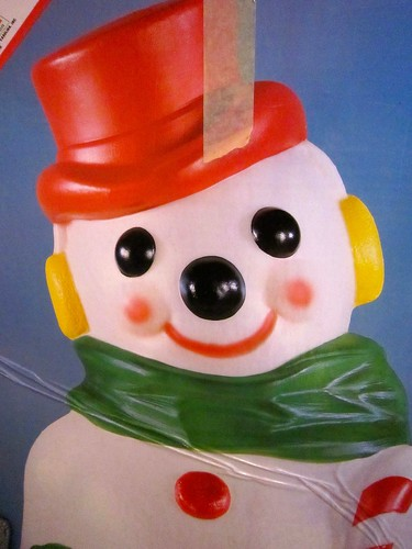 Blow Mold Snow Man  Box - Empire