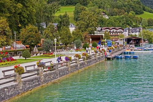 St. Wolfgang promenade