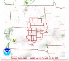 Tornado Watch - South Dakota