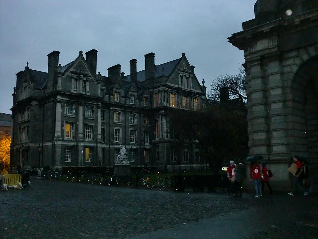 Trinity College - Dublin, Ireland.
