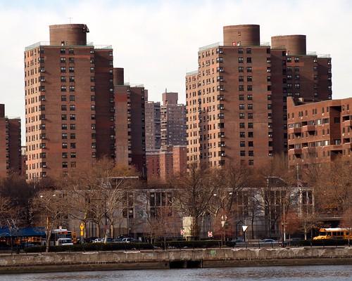 Franklin Plaza Apartments Buildings, East Harlem, New York City
