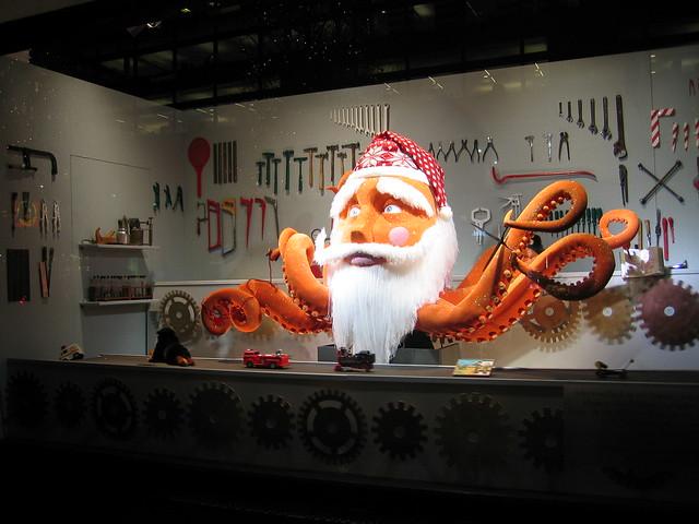 Santa Claus Octopus