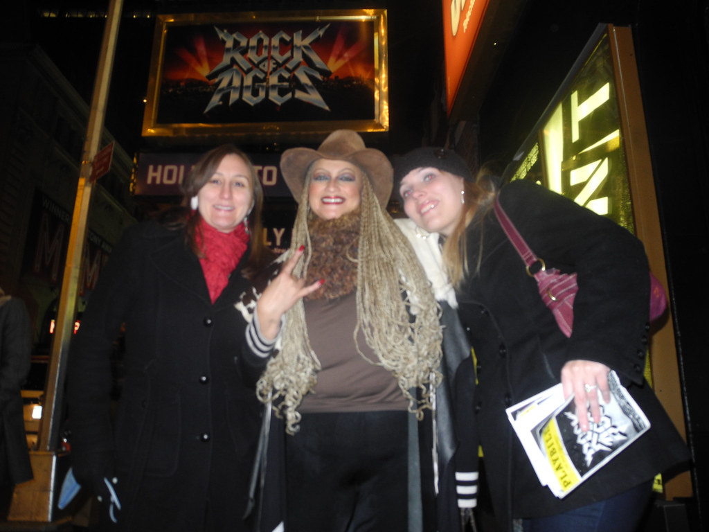 New York City for Rock of Ages