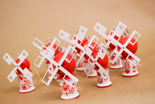 Dutch Windmill Ornaments II