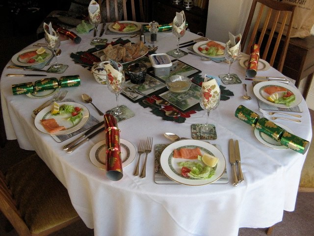 Table Setting For Lunch : Table set for Christmas lunch  Explore Nutrichs photos on ...