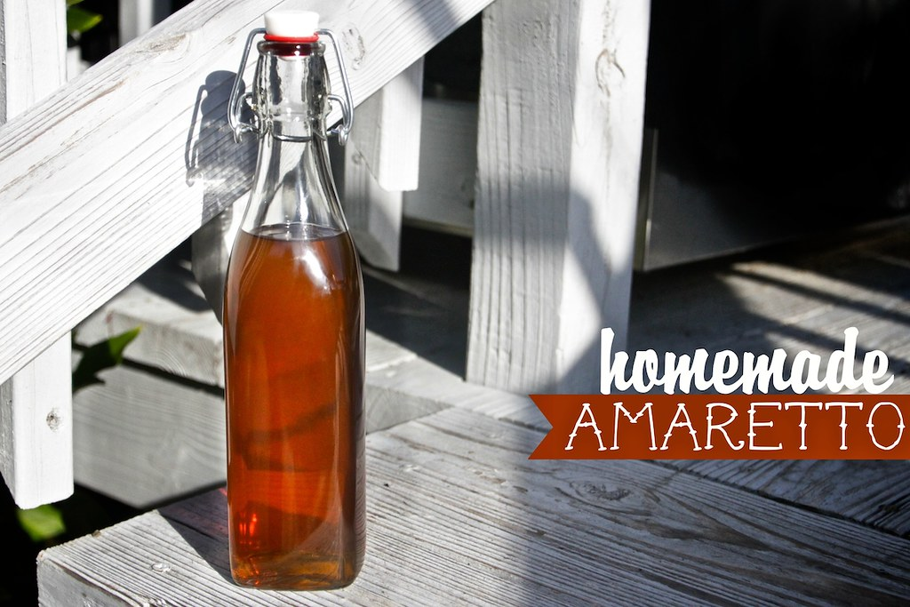 Homemade Amaretto - Shutterbean