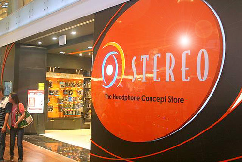 Stereo outlet at ION Orchard