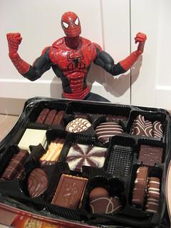 Spider-Man loves Belgian cookies