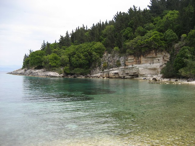 A bay in Paxos, Greece, a destination provided by specialist travel companies such as Travel a la Carte