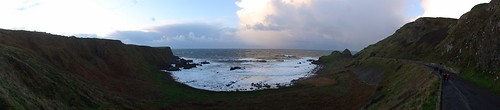 County Antrim Coastline Panorama