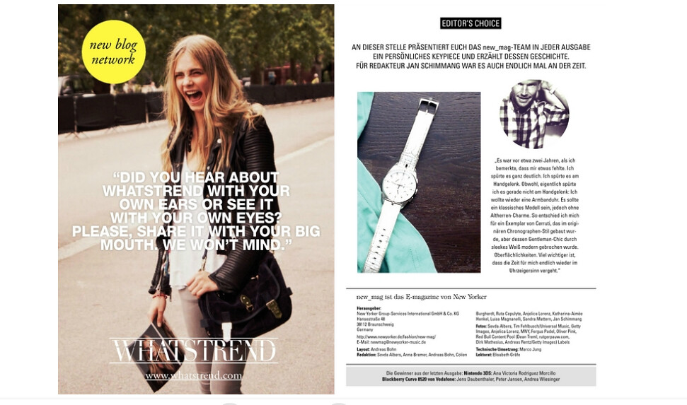 New Yorker xx Fashion Whisper
