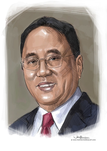 digital portrait of PBM-Milan Kwee