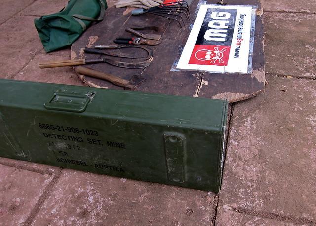 Demining Equipment