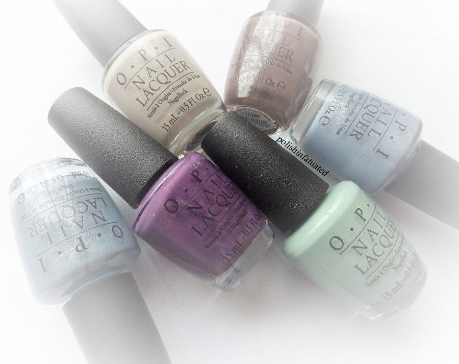 OPI Holland Collection for spring/summer 2012