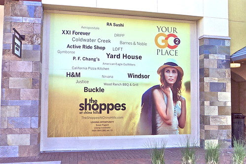 Shoppes - barricade wrap