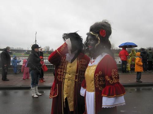 Different Zwarte Pieten