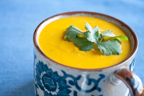 Spicy Kabocha Squash Soup