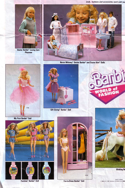Barbie World of Fashion Brochure