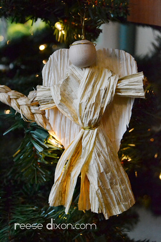 Paper Twist Angel Ornament