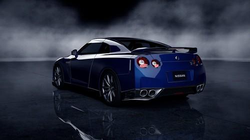 Nissan GT-R Black edition '12_73Rear