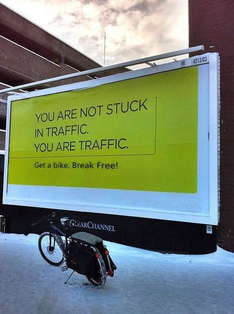 Você é o trânsito