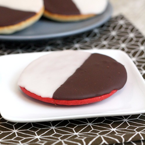 Black and White Cookies - Original and Red Velvet