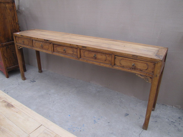 Antique Foyer Furniture : Drawer foyer table antique chinese furniture maryland