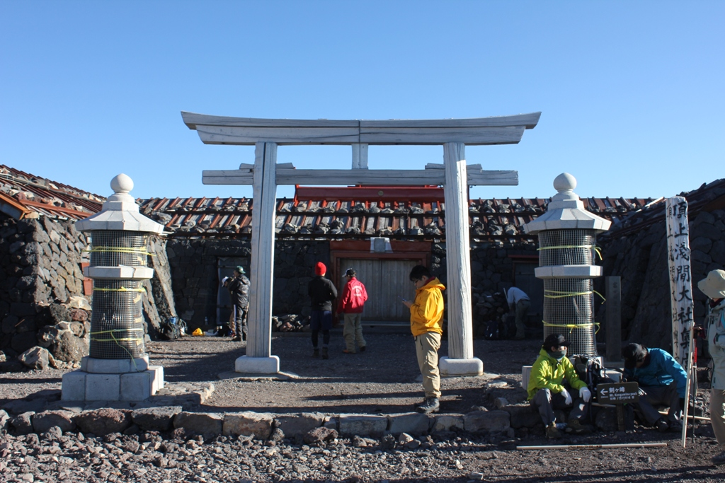 Mt. Fuji experience report (Yoshida route) Part4 (3)