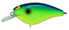 Blueback Chartreuse Bling 55 Bass Fishing Lure