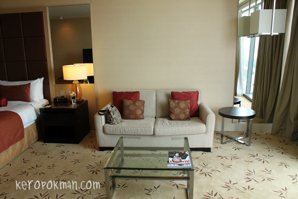 Club Room, Marina Bay Sands Hotel Singapore