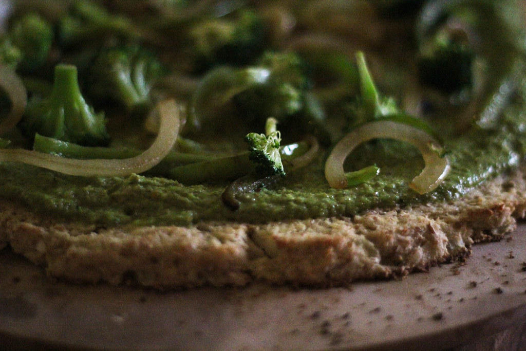 Cauliflower Crust Pizza... Yes Way! | The Happy Go Lucky Vegan