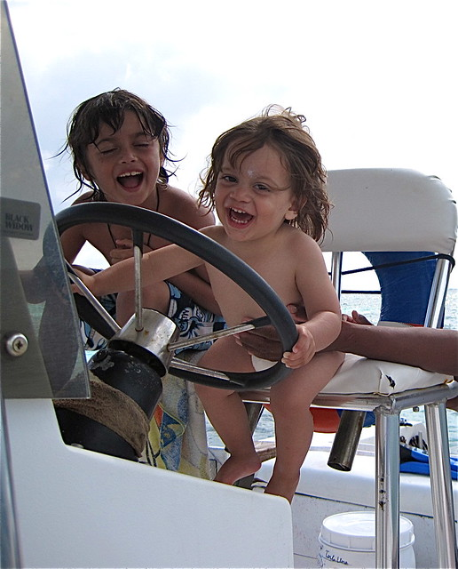kid activity private boat tour belize